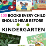 BOOKS TO READ BEFORE STARTING KINDERGARTEN