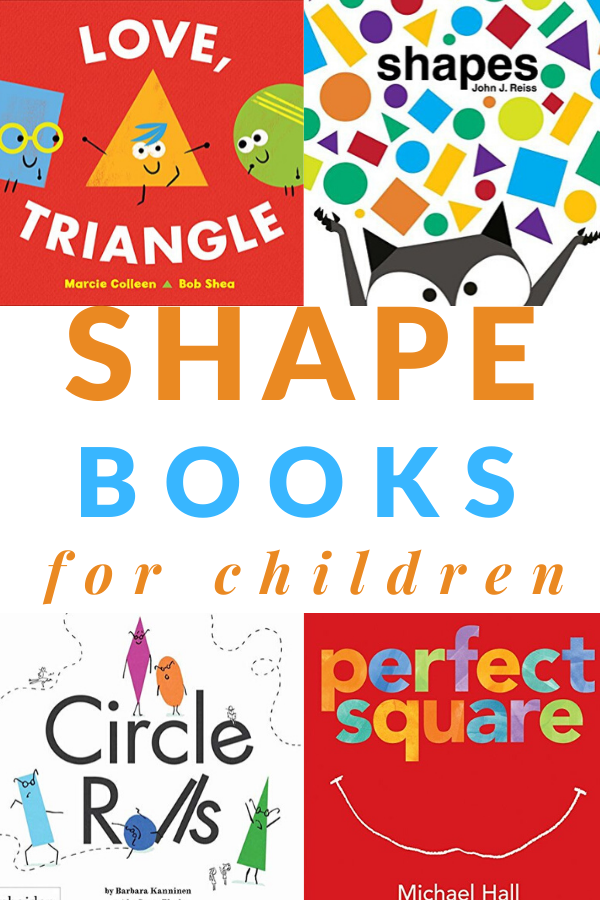 books about shapes for children