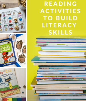 hands-on reading ideas