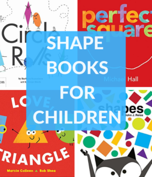 books about shapes for toddlers and preschoolers