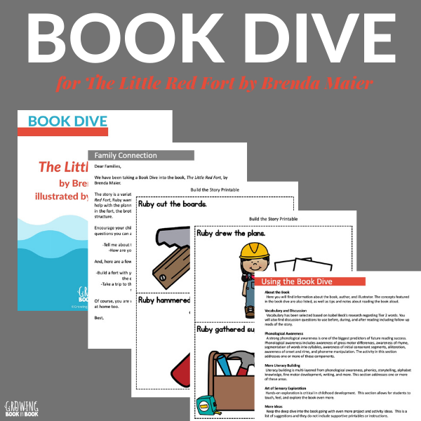 The Little Red Fort book activities