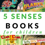 children's books about the five senses