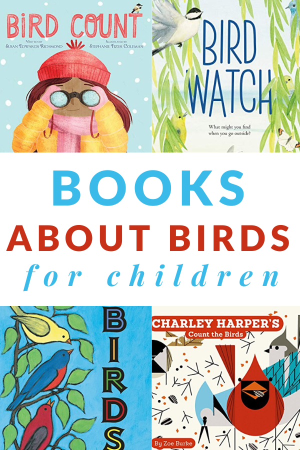 Picture books about birds for kids