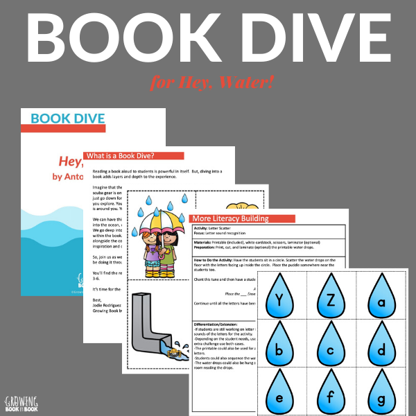 Hey, Water! book activities