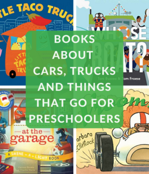 transportation books for preschoolers