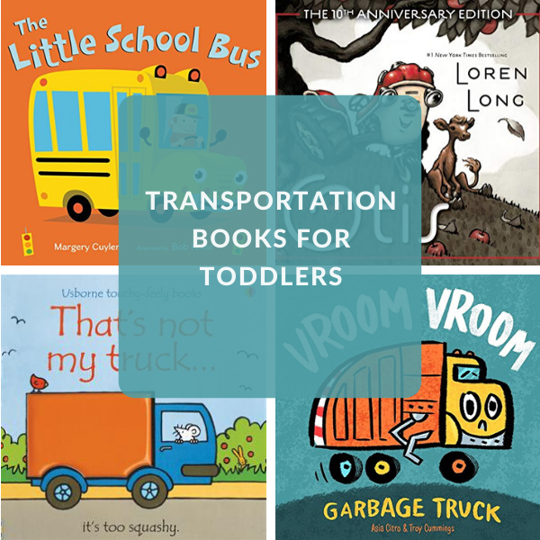 transportation books for toddlers