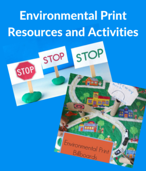 how to use environmental print