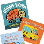 books about transportation vehicles for toddlers
