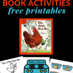 BOOK ACTIVITIES FOR THE LITTLE RED HEN
