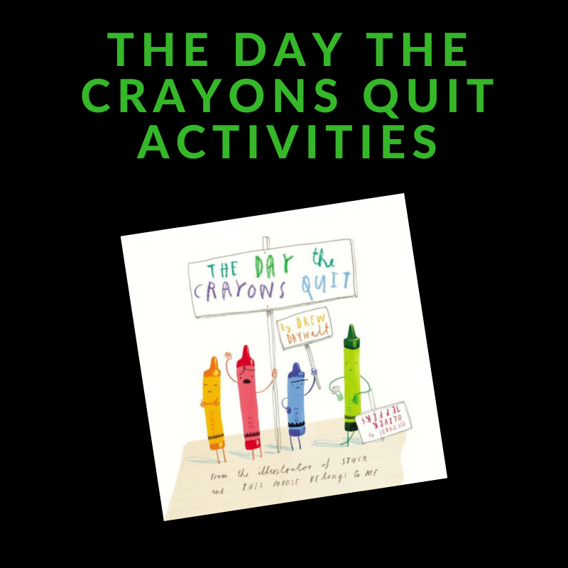 activities to go with The Days the Crayons Quit