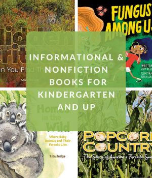 nonfiction books for kindergarten