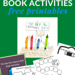 printable activities to go with The Days the Crayons Quit