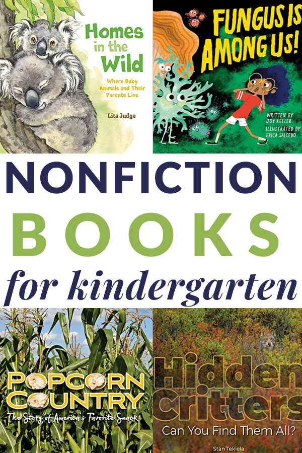 informational books for kindergarteners