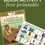 coverall printable activity to go with book- Goldilocks and the Three Bears