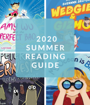 BOOK SUGGESTIONS FOR SUMMER FOR KIDS