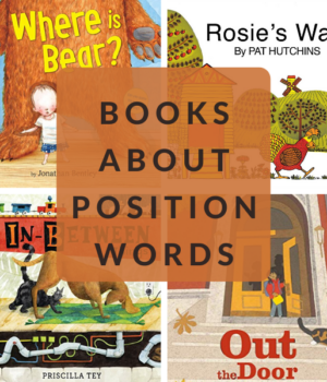 positional words picture books
