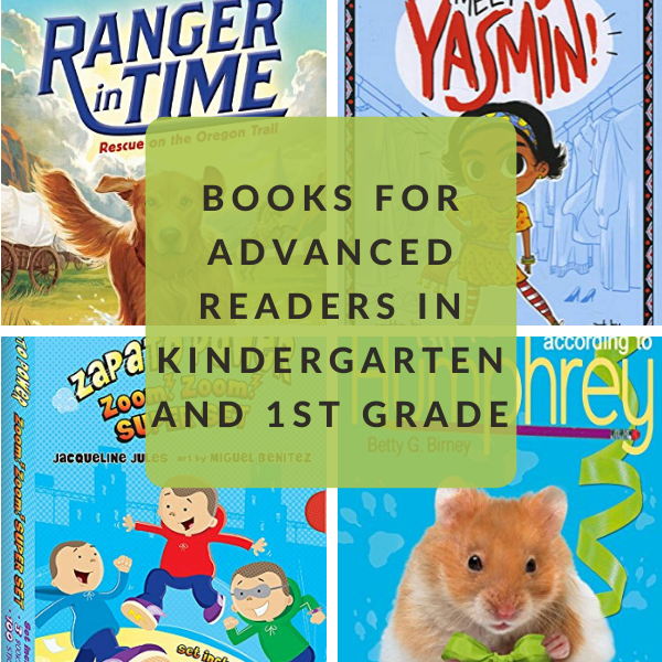 kindergarten and first grade advanced reading books