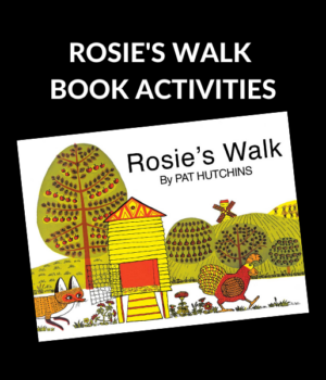 ROSIE'S WALK BOOK ACTIVITIES