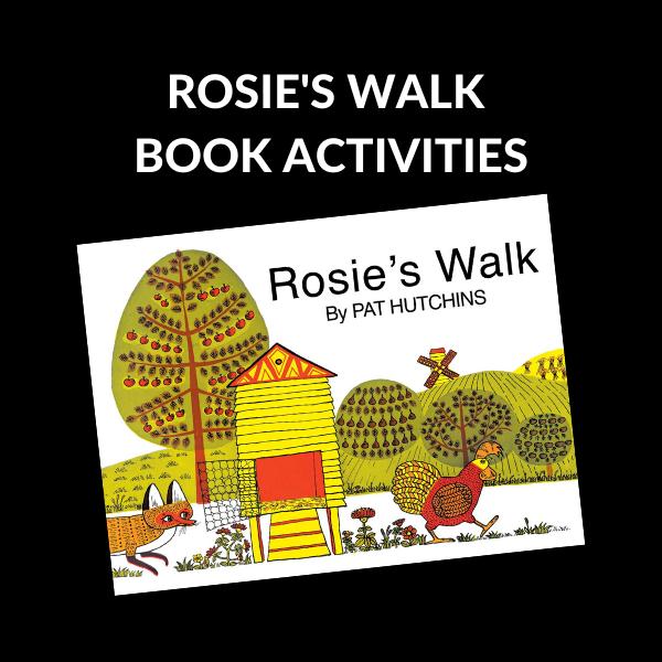 ROSIE'S WALK BOOK ACTIVITIES