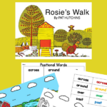 ACTIVITIES TO DO WITH ROSIE'S WALK BOOK