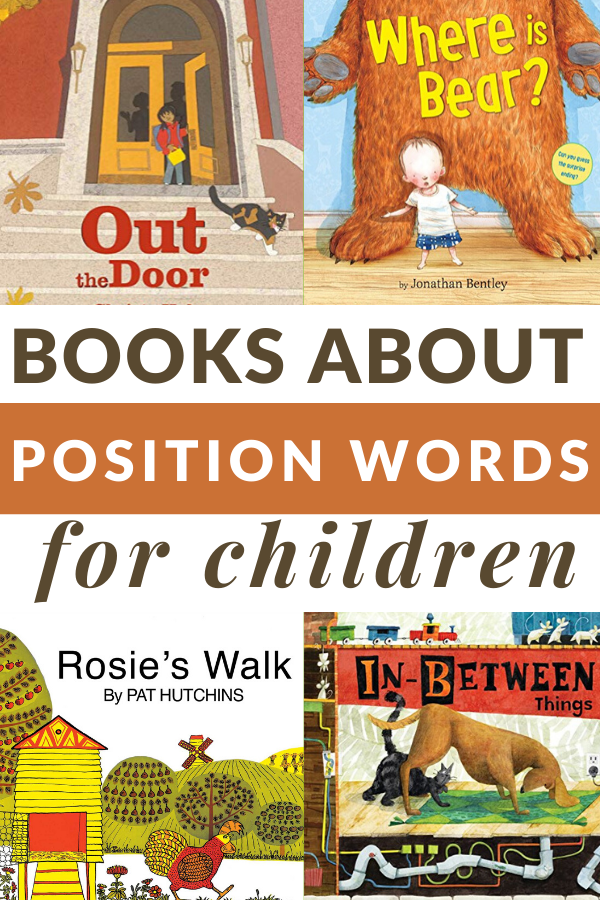 TEACHING ABOUT POSITIONAL WORDS WITH BOOKS