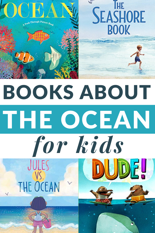 beach and ocean books for kids