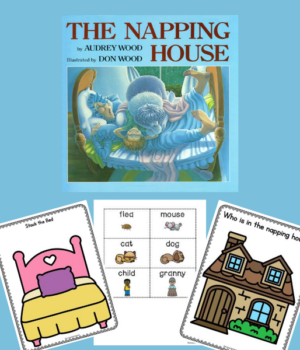 The Napping House Book Activities