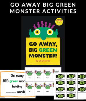 activities to do with Go Away Big Green Monster