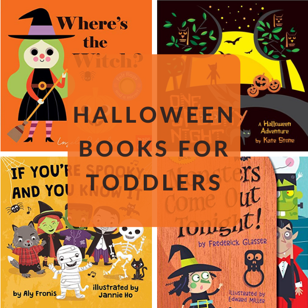 HALLOWEEN TODDLER BOOKS