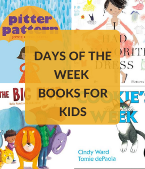 days of the week books