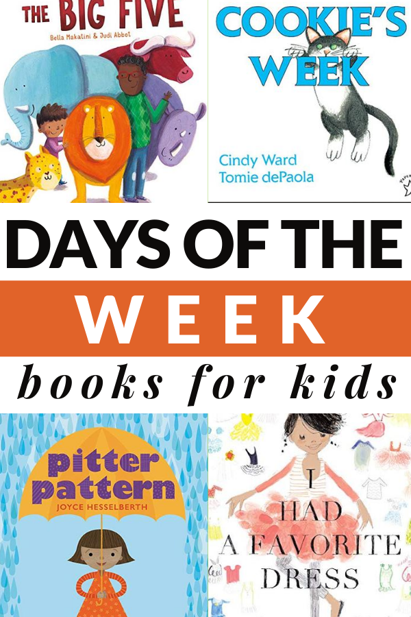 picture books about the days of the week