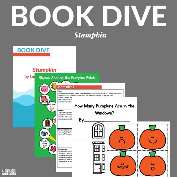 stumpkin book activities