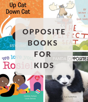board books and picture books about opposites