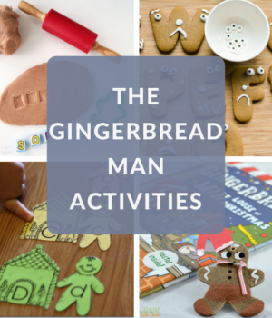 The Gingerbread Man Book Activities