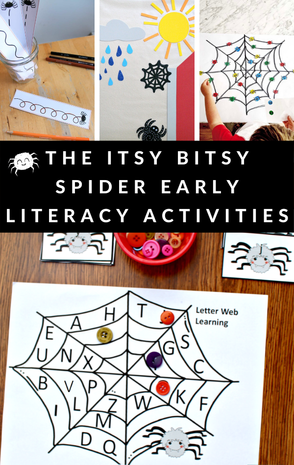 EENSY WEENSY SPIDER ACTIVITIES