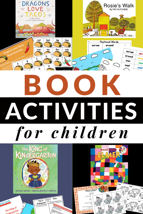 activities to do with children's books