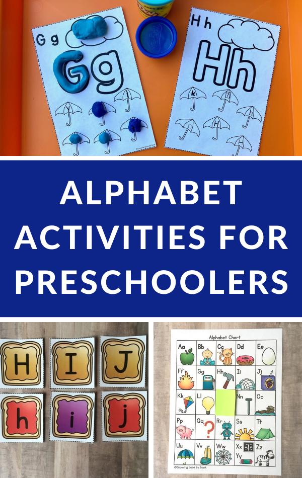 ABC activities for preschool