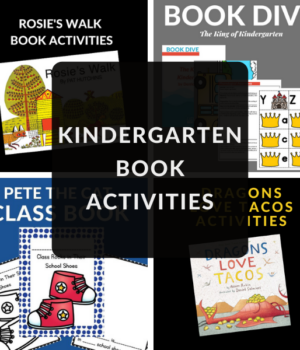 activities to do with books for kindergarteners
