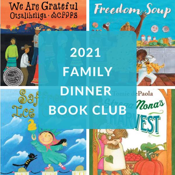 FAMILY DINNER BOOK CLUB BOOKS