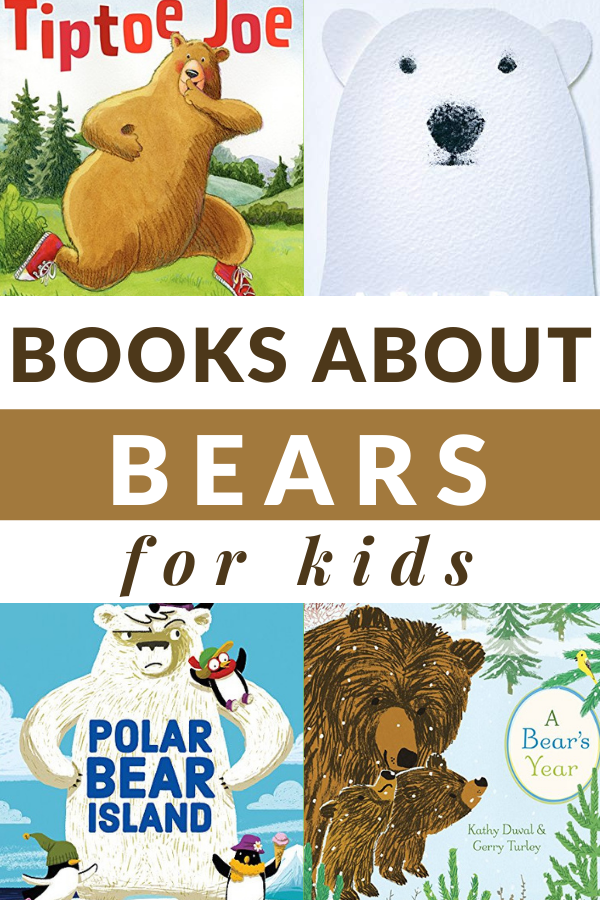 bear books for children