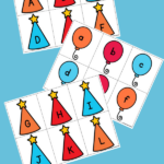 part memory game for alphabet recognition
