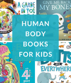 BOOKS ABOUT THE BODY FOR CHILDREN