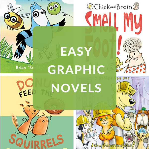 graphic novels for early readers
