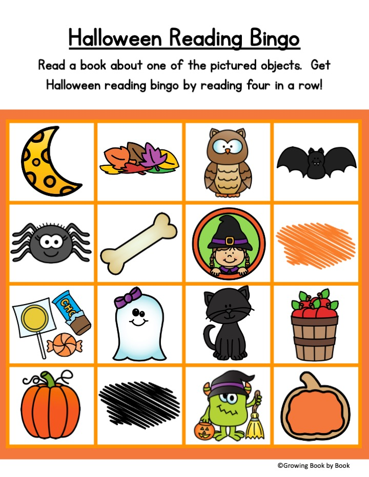 halloween reading challenge