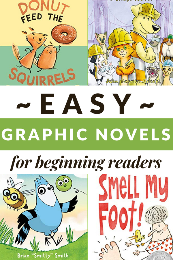 graphic novels for beginning readers
