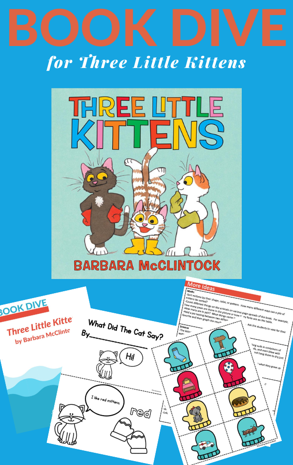 three little kittens activities