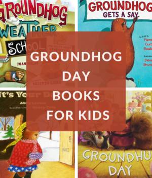 groundhog books for preschoolers