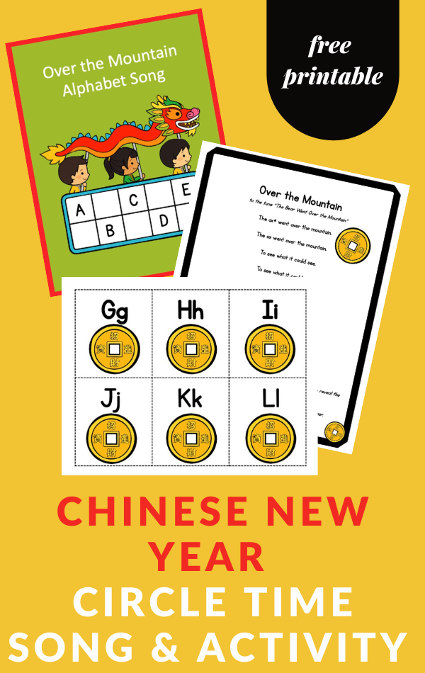 Chinese New Year Activity for Preschoolers