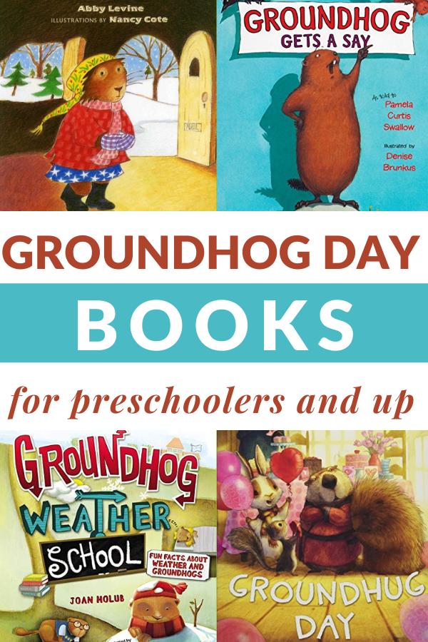 groundhog day books for children