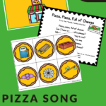 PIZZA THEMED UNIT FOR CIRCLE TIME